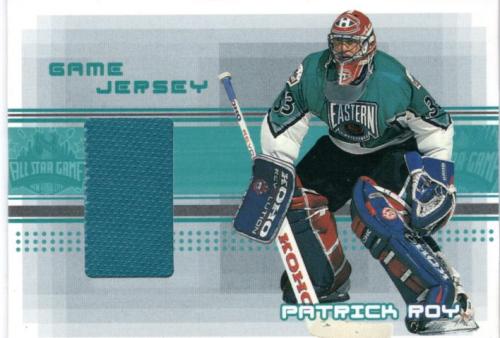 2000-01 BAP Memorabilia Jersey #J34 Patrick Roy