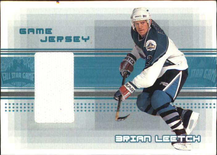 2000-01 BAP Memorabilia Jersey #J38 Brian Leetch