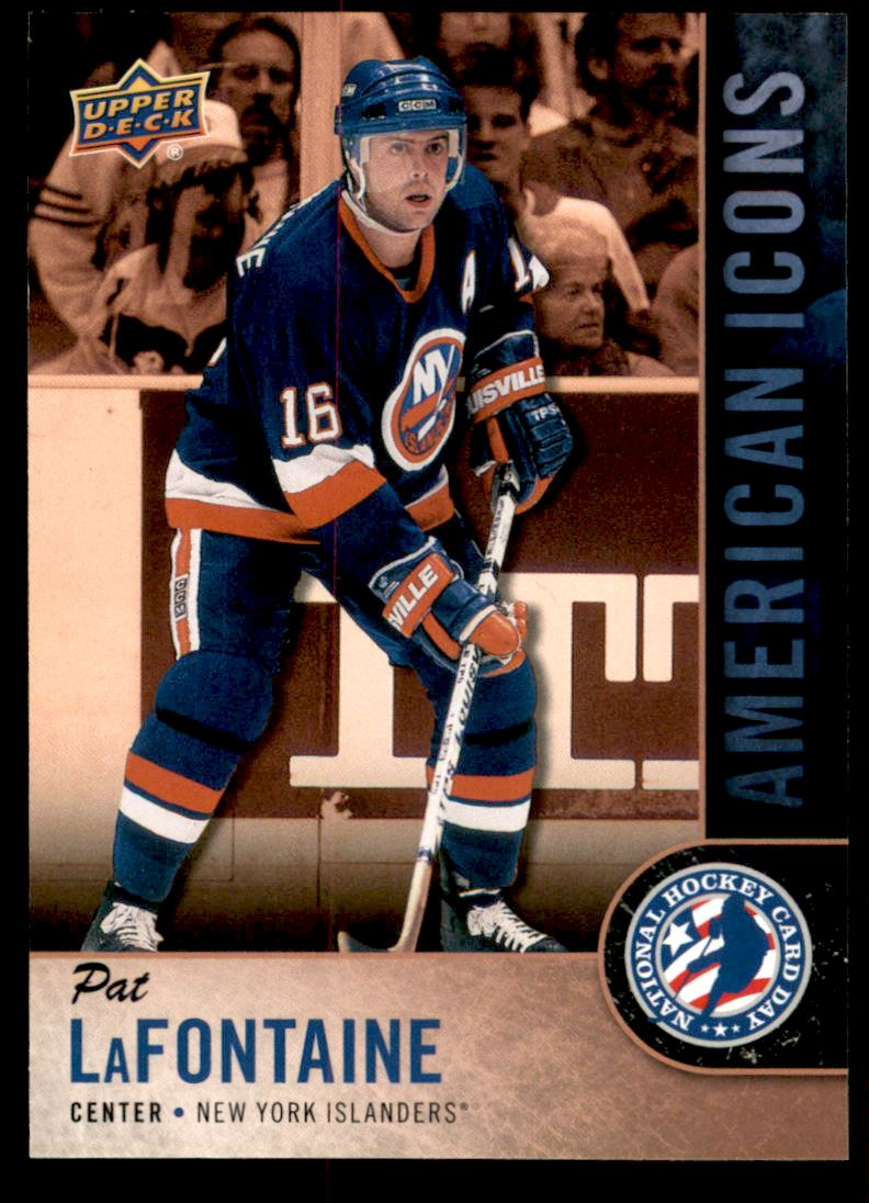2017 18 Upper Deck National Hockey Card Day Usa Usa15 Pat Lafontaine