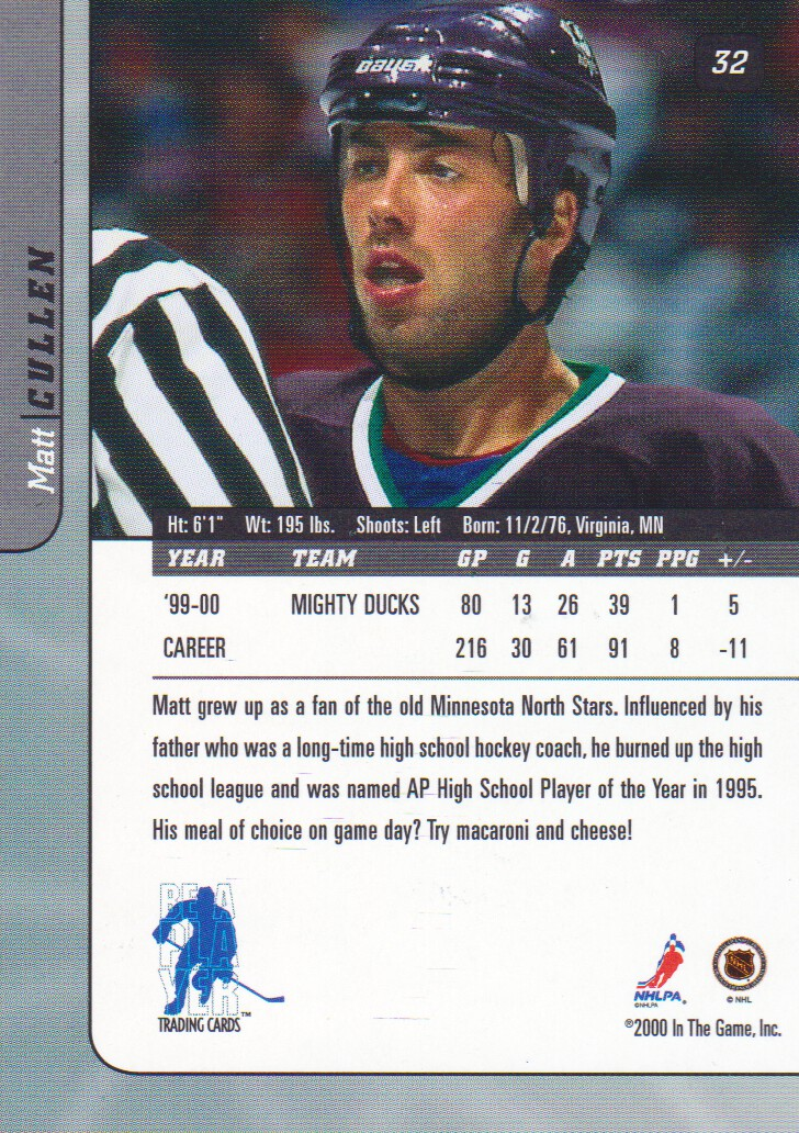 2000-01-BAP-Signature-Series-Hockey-Cards-Pick-From-List thumbnail 21