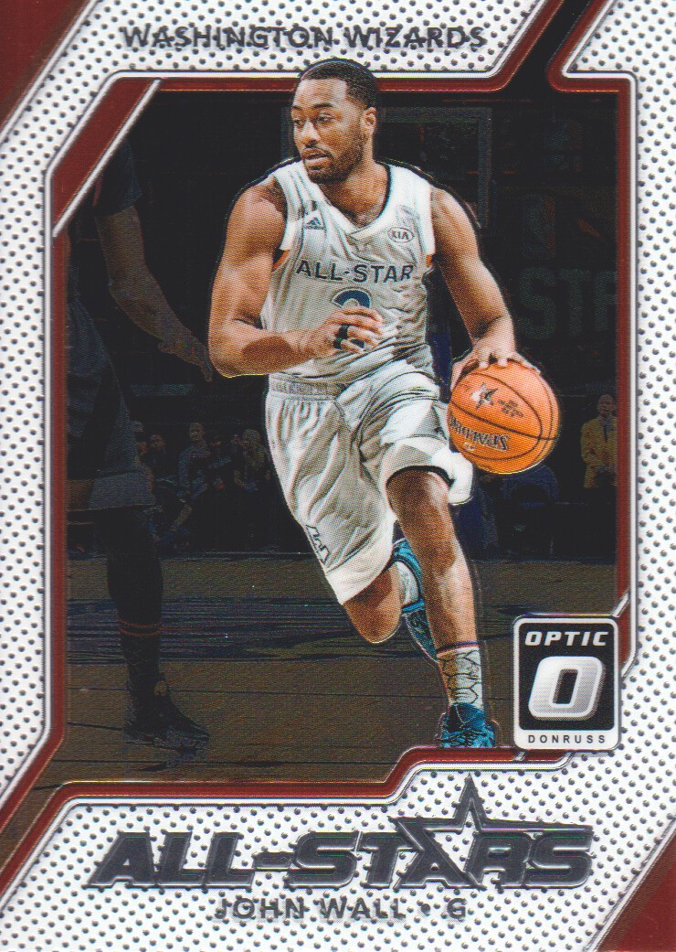 low priced 8938f b6582 Details about 2017-18 Donruss Optic All-Stars #19 John Wall Washington  Wizards