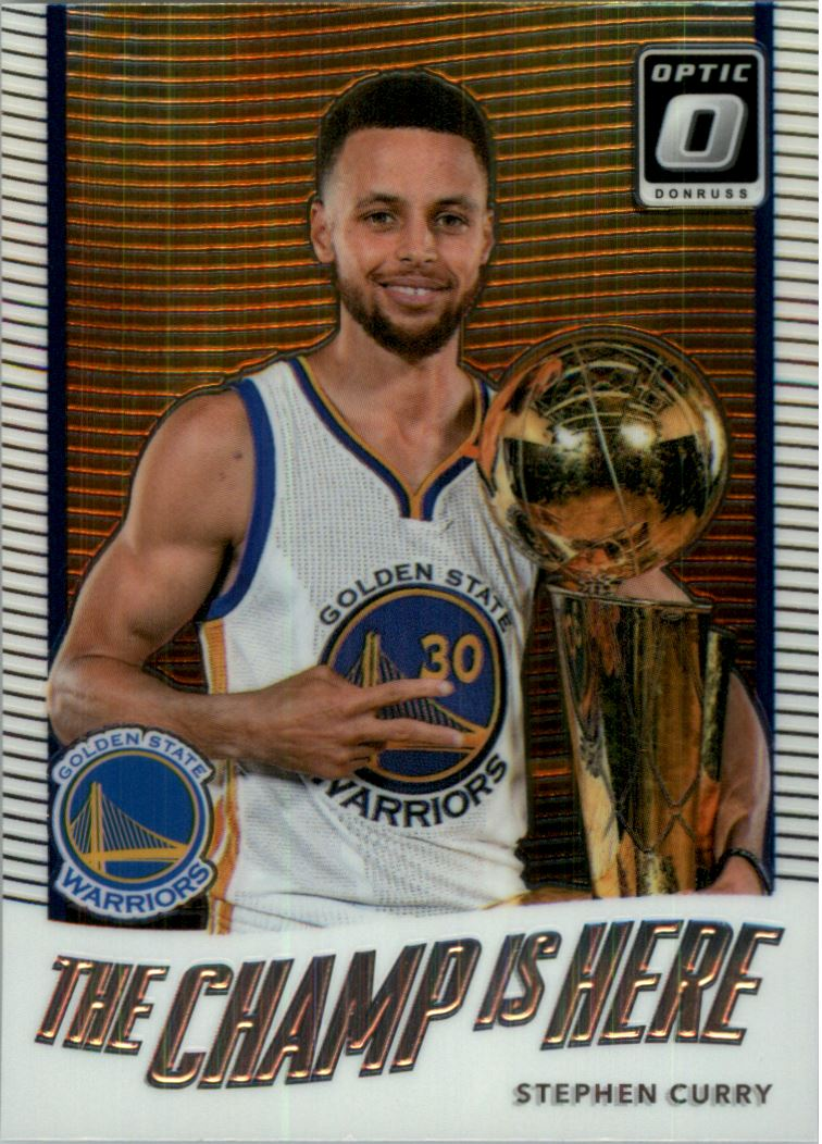 e1a90d2917d9 2017-18 Donruss Optic The Champ is Here  5 Stephen Curry