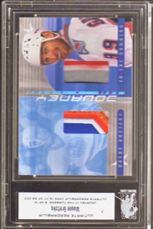 2000-01 BAP Ultimate Memorabilia Journey Numbers #JI1 Wayne Gretzky