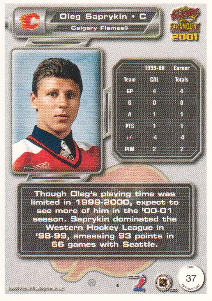 2000-01-Paramount-Hockey-Cards-Pick-From-List thumbnail 9