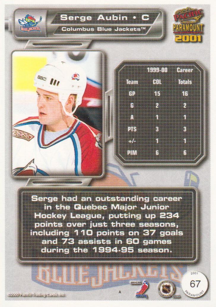 2000-01-Paramount-Hockey-Cards-Pick-From-List thumbnail 11