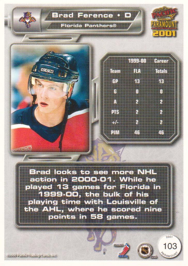 2000-01-Paramount-Hockey-Cards-Pick-From-List thumbnail 13