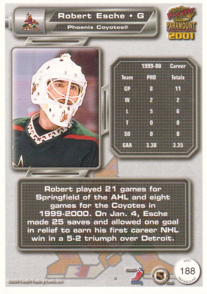 2000-01-Paramount-Hockey-Cards-Pick-From-List thumbnail 23