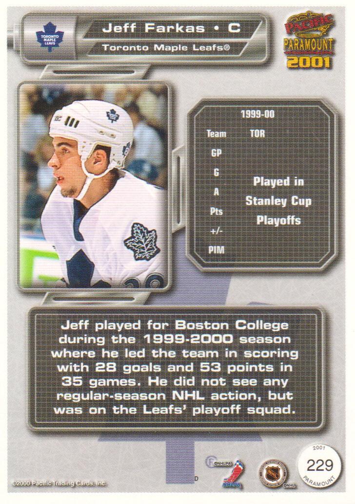 2000-01-Paramount-Hockey-Cards-Pick-From-List thumbnail 25