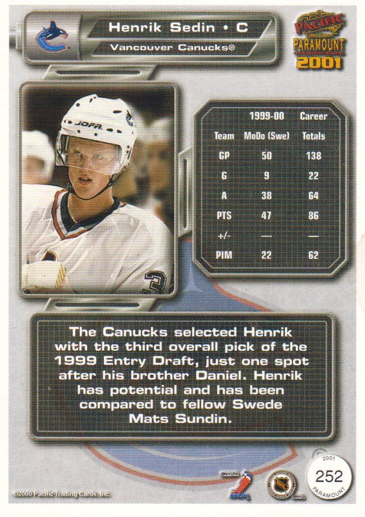 2000-01-Paramount-Hockey-Cards-Pick-From-List thumbnail 27