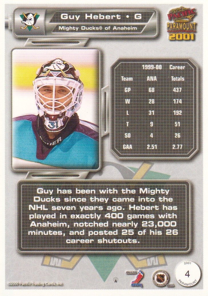 2000-01-Paramount-Copper-Parallel-Hockey-Cards-Pick-From-List thumbnail 3