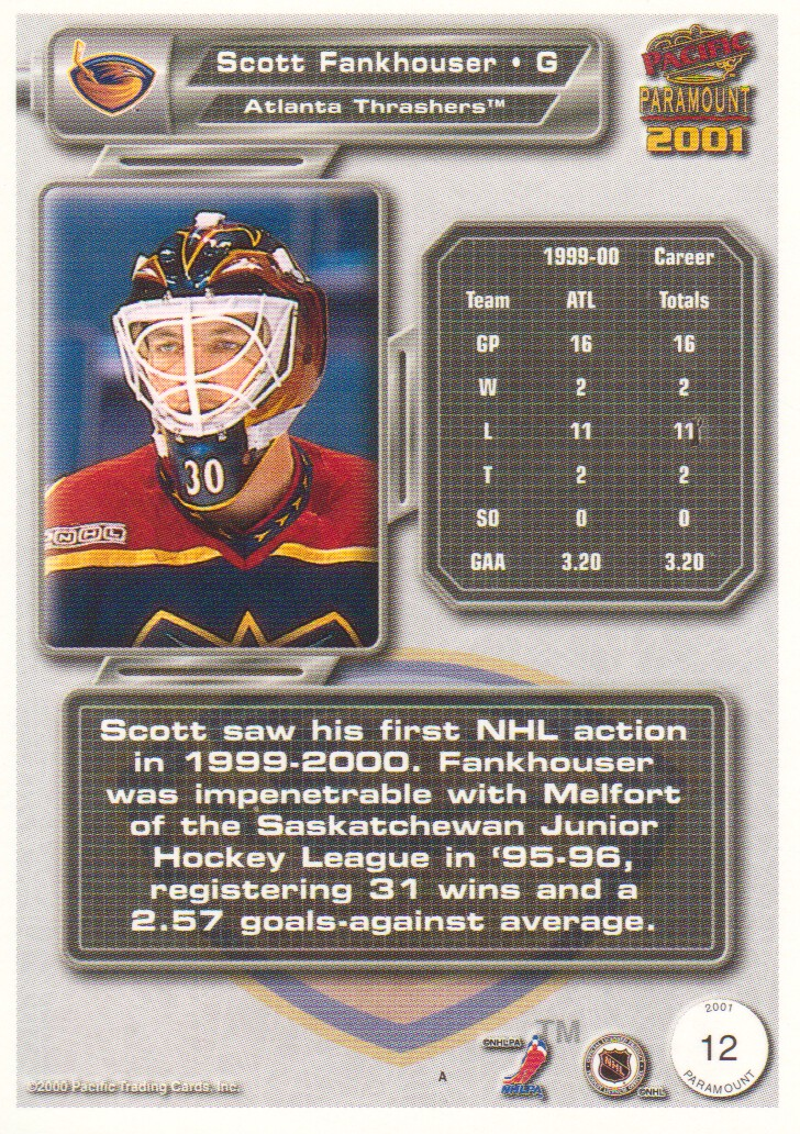 2000-01-Paramount-Copper-Parallel-Hockey-Cards-Pick-From-List thumbnail 9