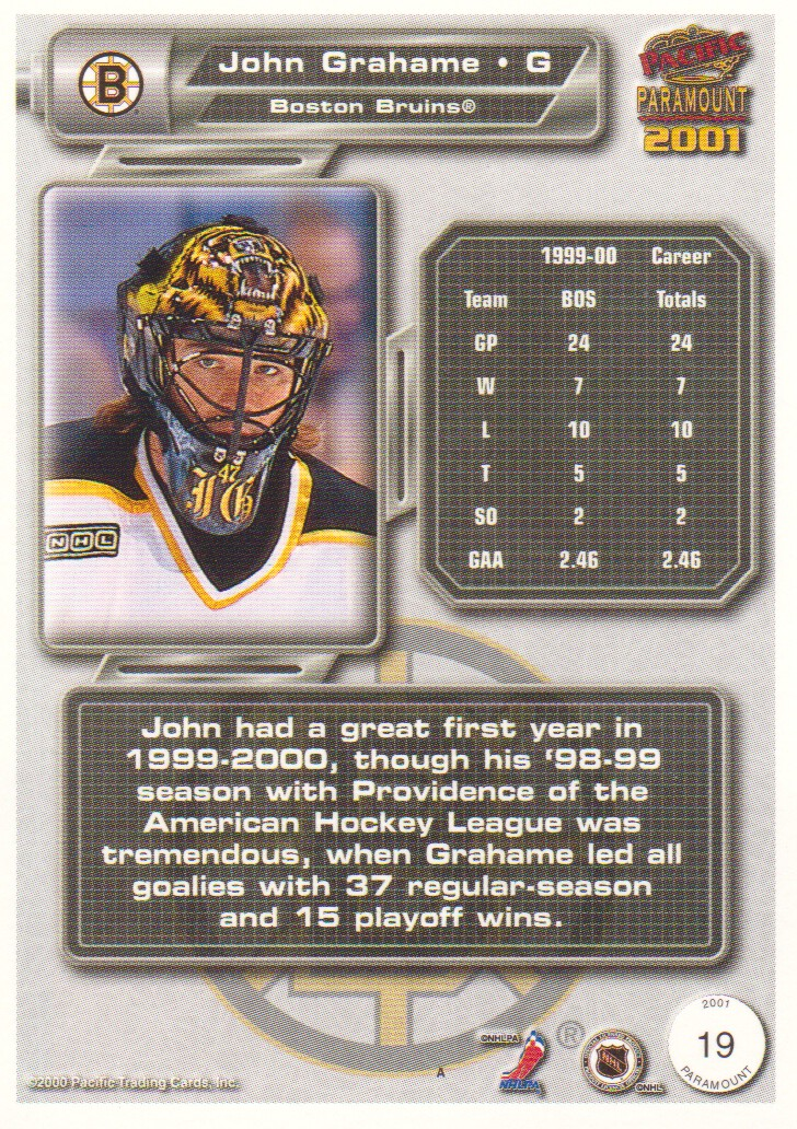 2000-01-Paramount-Copper-Parallel-Hockey-Cards-Pick-From-List thumbnail 13