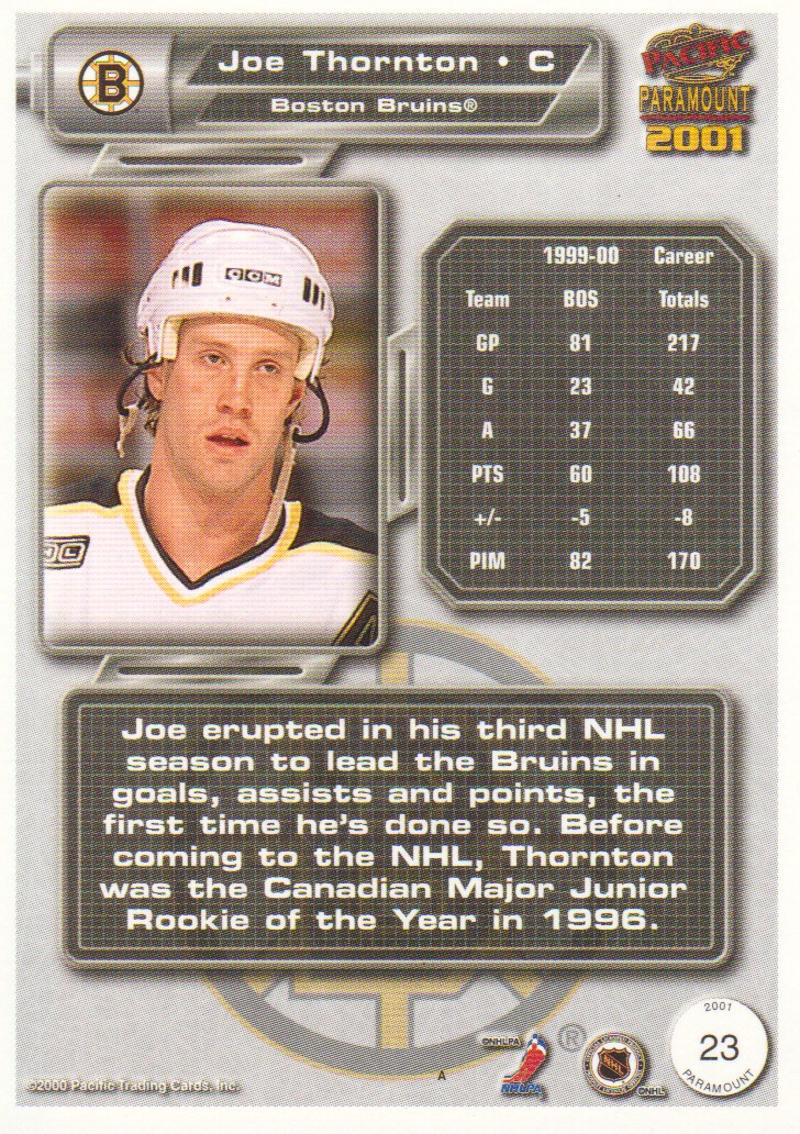 2000-01-Paramount-Copper-Parallel-Hockey-Cards-Pick-From-List thumbnail 15