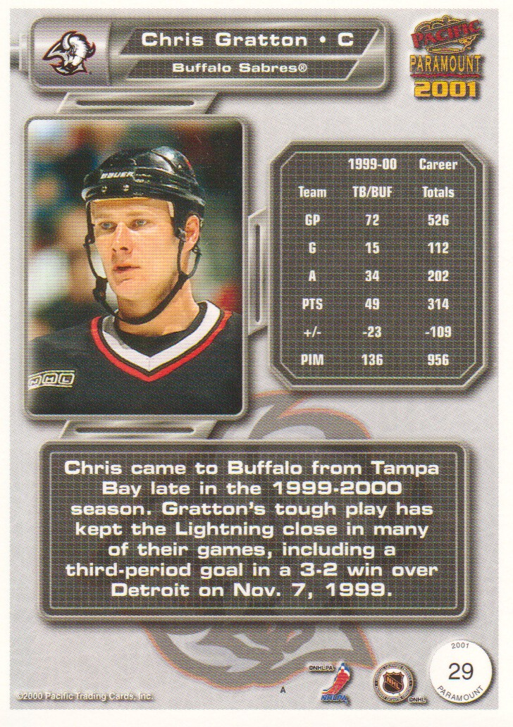 2000-01-Paramount-Copper-Parallel-Hockey-Cards-Pick-From-List thumbnail 23