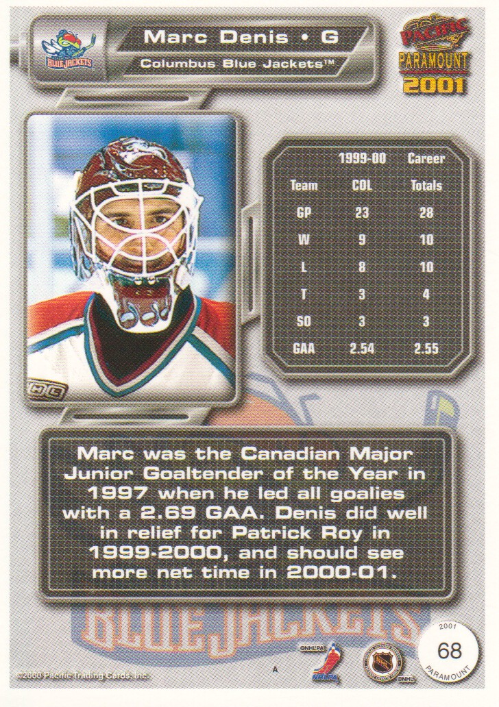 2000-01-Paramount-Copper-Parallel-Hockey-Cards-Pick-From-List thumbnail 29