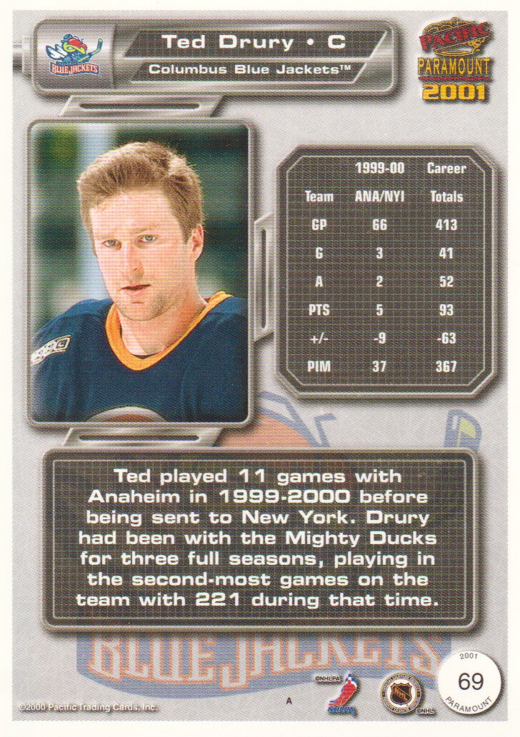 2000-01-Paramount-Copper-Parallel-Hockey-Cards-Pick-From-List thumbnail 31