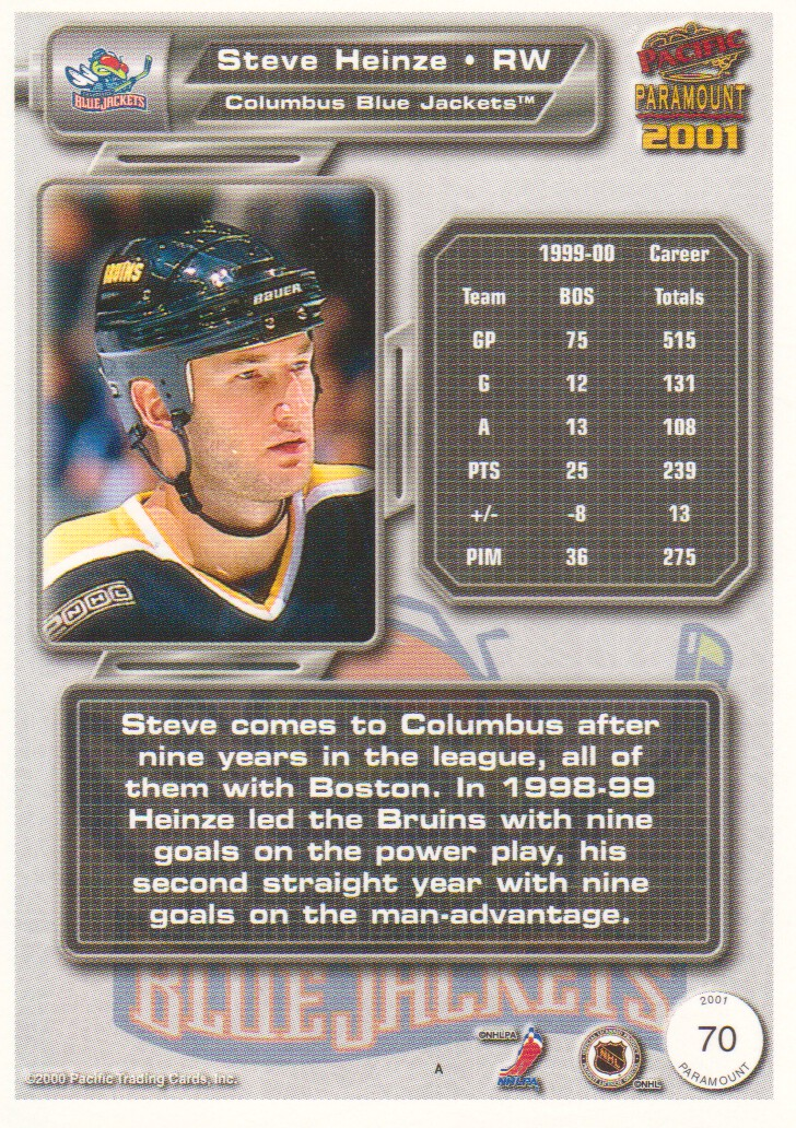 2000-01-Paramount-Copper-Parallel-Hockey-Cards-Pick-From-List thumbnail 33