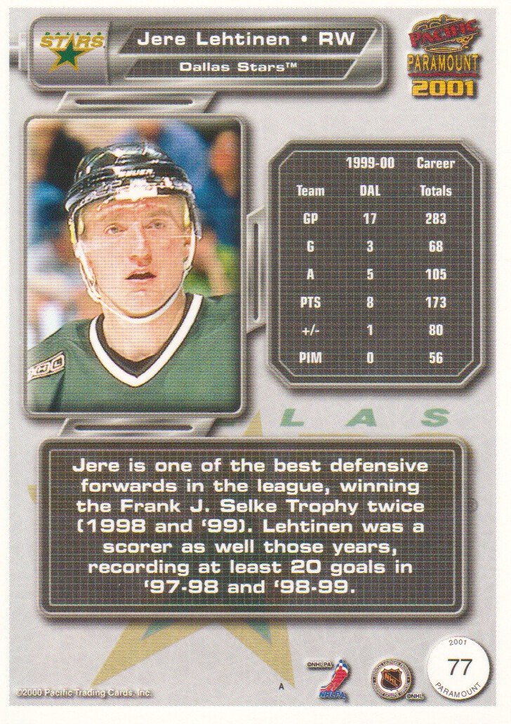 2000-01-Paramount-Copper-Parallel-Hockey-Cards-Pick-From-List thumbnail 39
