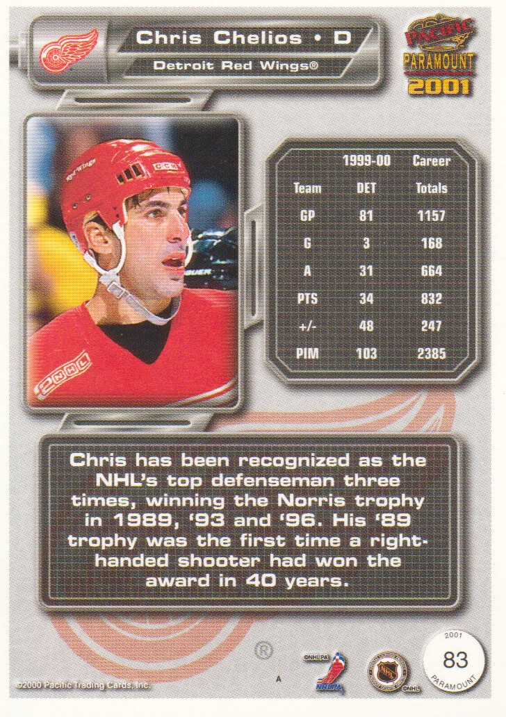 2000-01-Paramount-Copper-Parallel-Hockey-Cards-Pick-From-List thumbnail 45