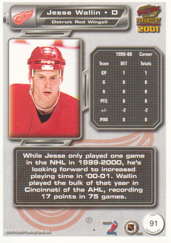 2000-01-Paramount-Copper-Parallel-Hockey-Cards-Pick-From-List thumbnail 49