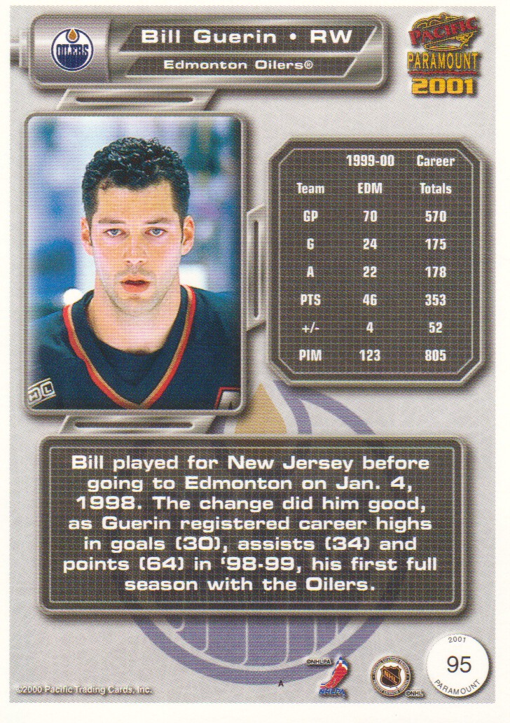 2000-01-Paramount-Copper-Parallel-Hockey-Cards-Pick-From-List thumbnail 51