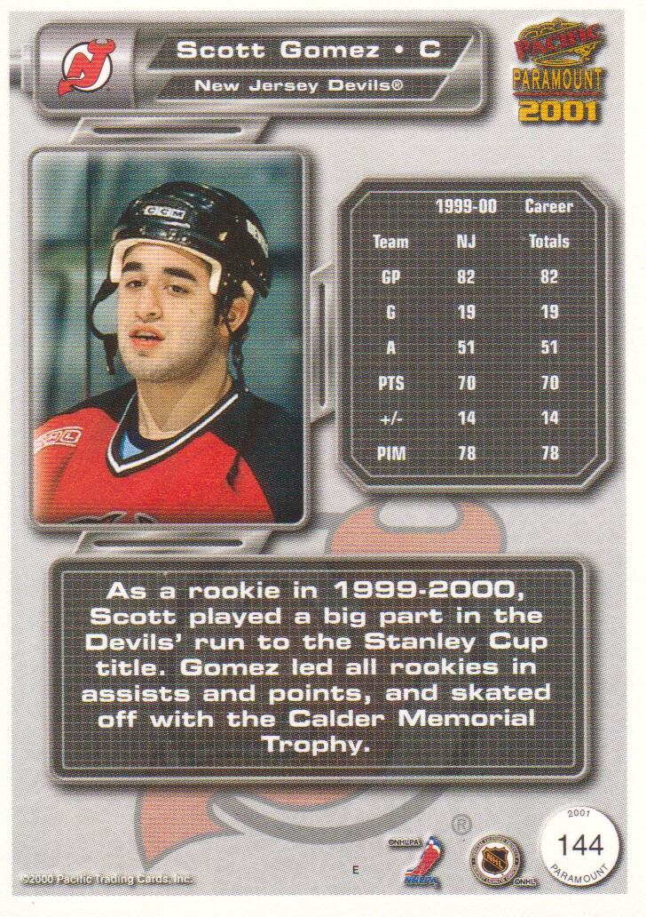 2000-01-Paramount-Copper-Parallel-Hockey-Cards-Pick-From-List thumbnail 59