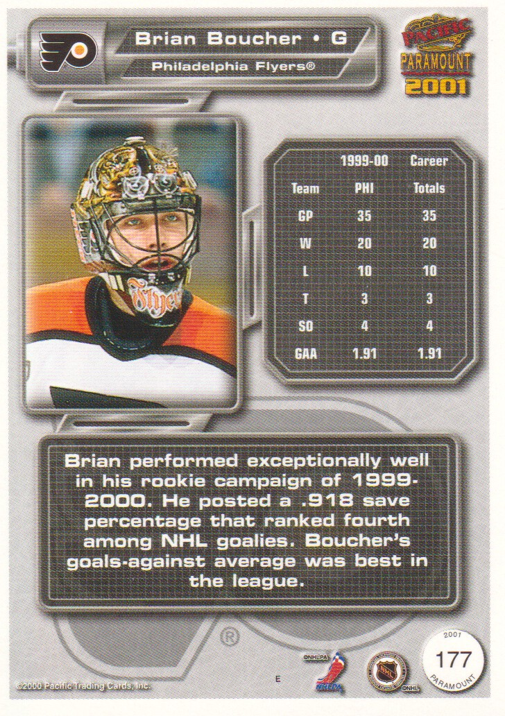 2000-01-Paramount-Copper-Parallel-Hockey-Cards-Pick-From-List thumbnail 61