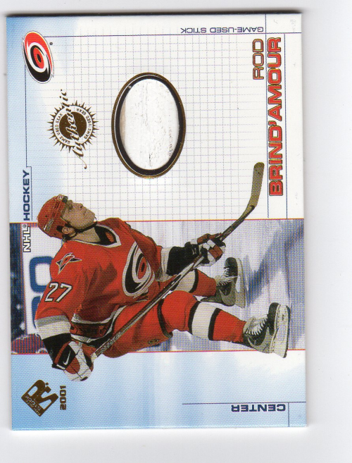 2000-01 Private Stock Game Gear #12 Rod Brind'Amour S