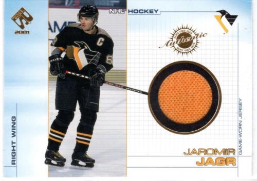 2000-01 Private Stock Game Gear #89 Jaromir Jagr J