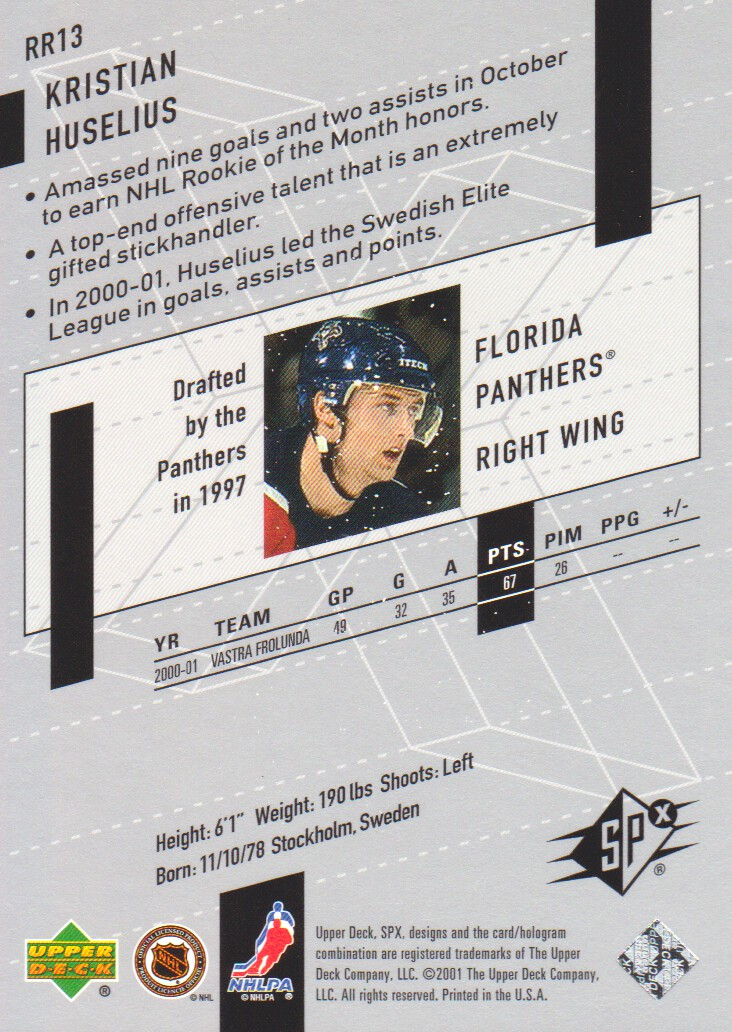2000-01-SPx-Rookie-Redemption-Hockey-Cards-Pick-From-List thumbnail 7