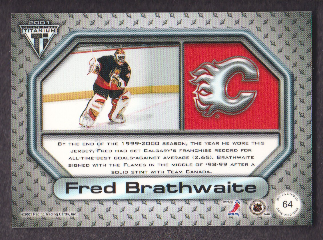 2000-01-Titanium-Game-Gear-JERSEY-Hockey-Cards-Pick-From-List miniature 9