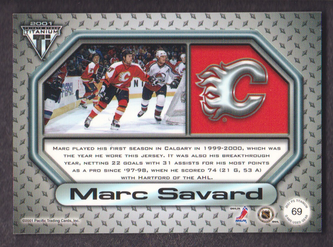 2000-01-Titanium-Game-Gear-JERSEY-Hockey-Cards-Pick-From-List miniature 11