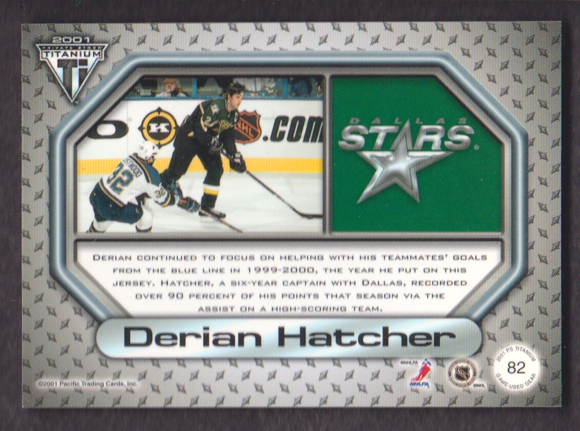 2000-01-Titanium-Game-Gear-JERSEY-Hockey-Cards-Pick-From-List miniature 17