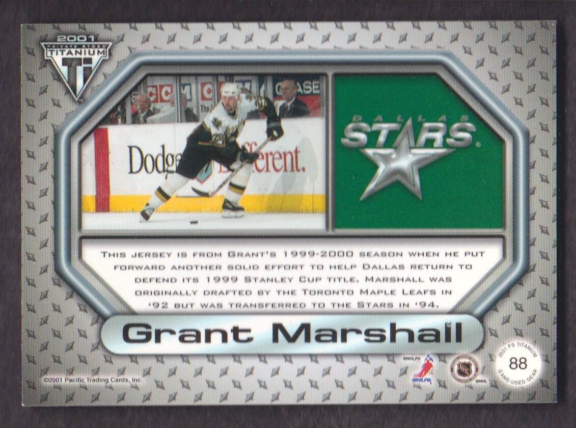 2000-01-Titanium-Game-Gear-JERSEY-Hockey-Cards-Pick-From-List miniature 23