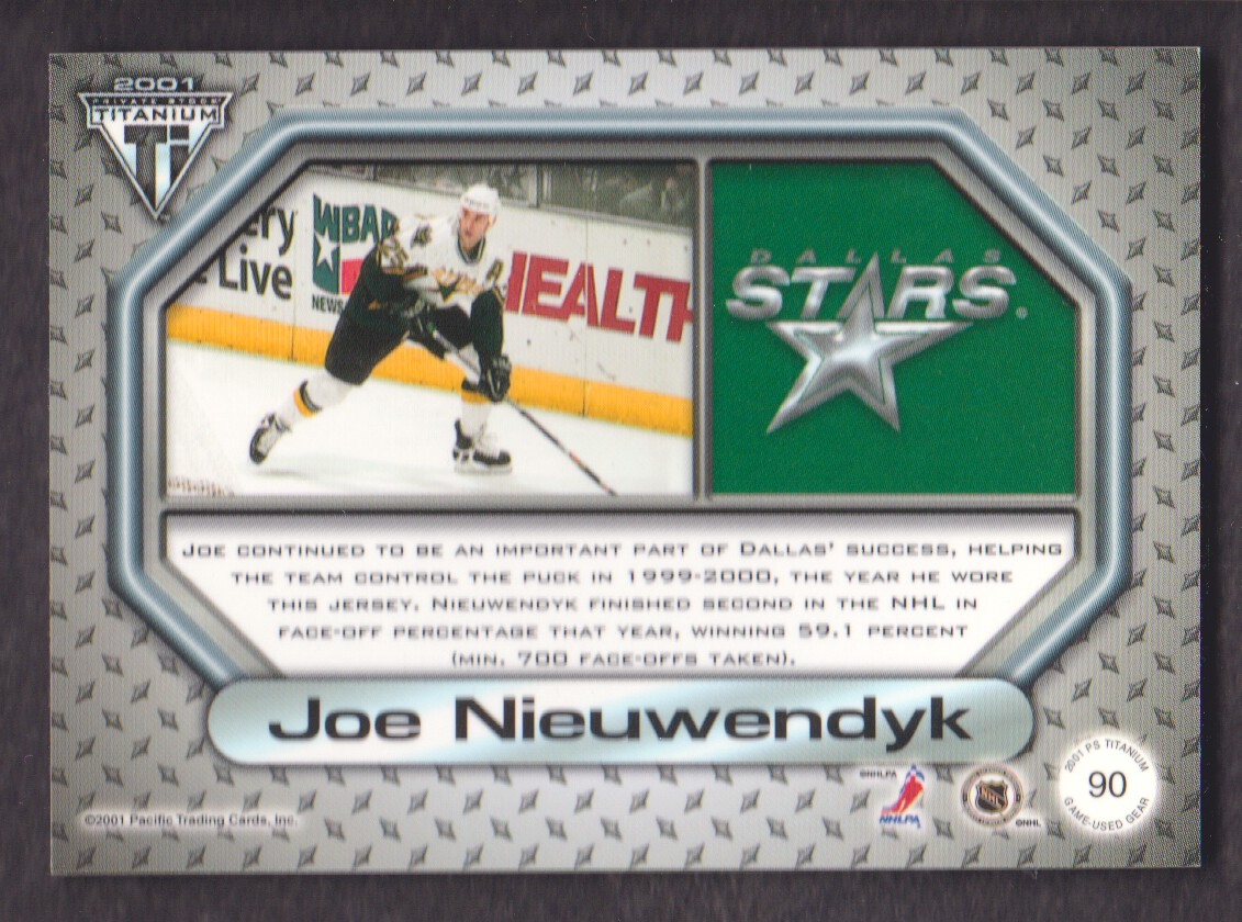 2000-01-Titanium-Game-Gear-JERSEY-Hockey-Cards-Pick-From-List miniature 25