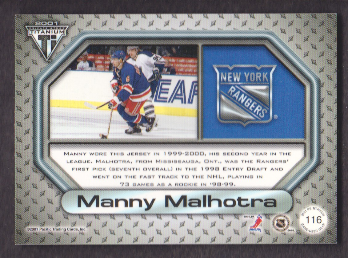 2000-01-Titanium-Game-Gear-JERSEY-Hockey-Cards-Pick-From-List miniature 29