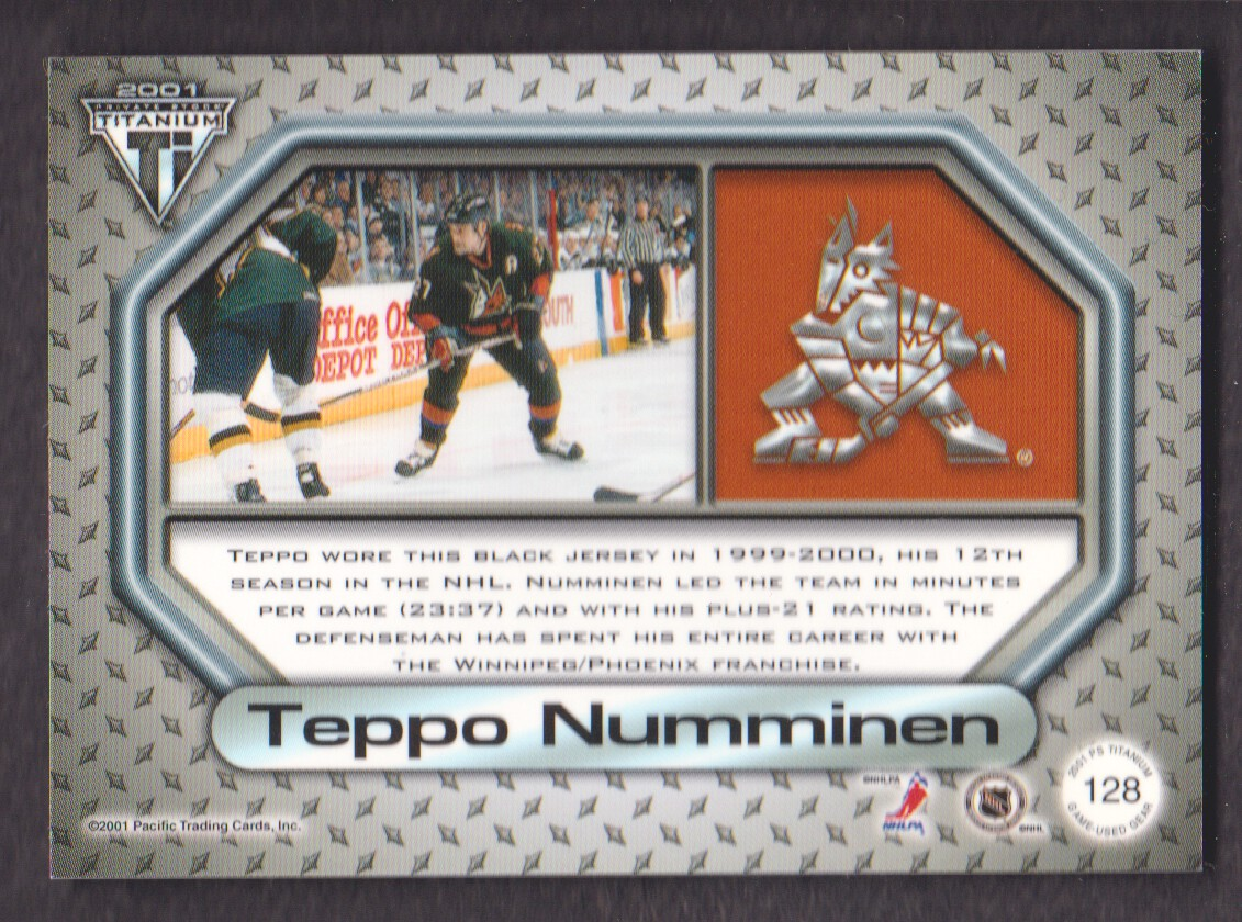 2000-01-Titanium-Game-Gear-JERSEY-Hockey-Cards-Pick-From-List miniature 35