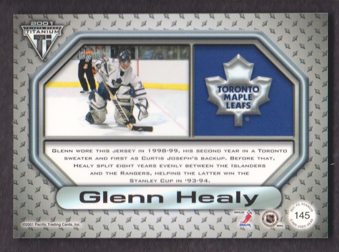 2000-01-Titanium-Game-Gear-JERSEY-Hockey-Cards-Pick-From-List miniature 39
