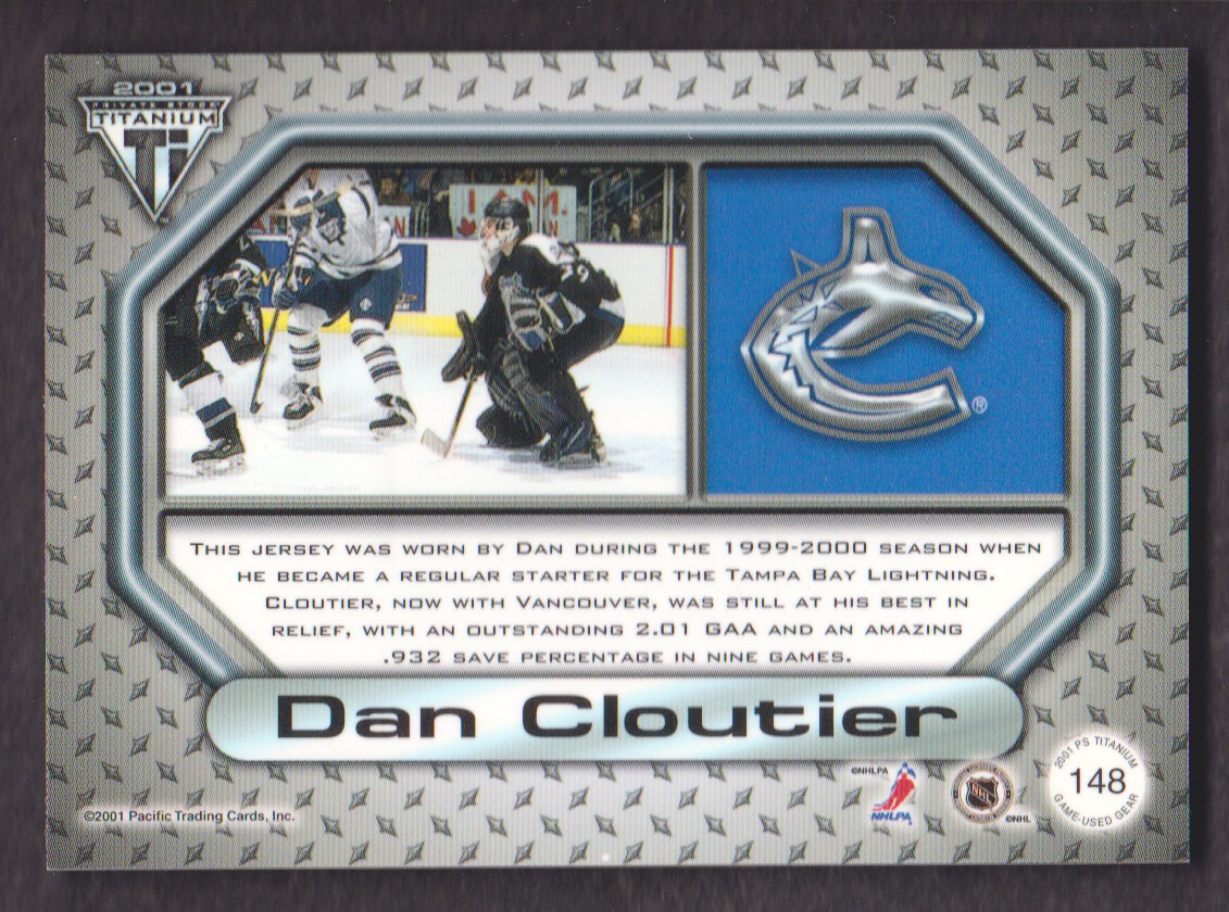 2000-01-Titanium-Game-Gear-JERSEY-Hockey-Cards-Pick-From-List miniature 41