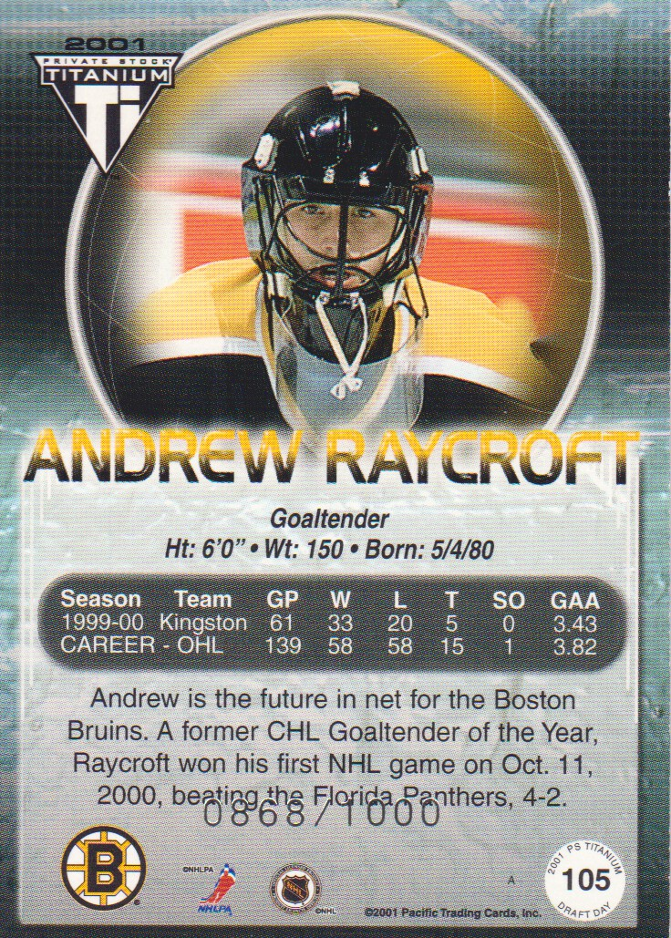 2000-01-Titanium-Draft-Day-Edition-Hockey-Cards-Pick-From-List thumbnail 17