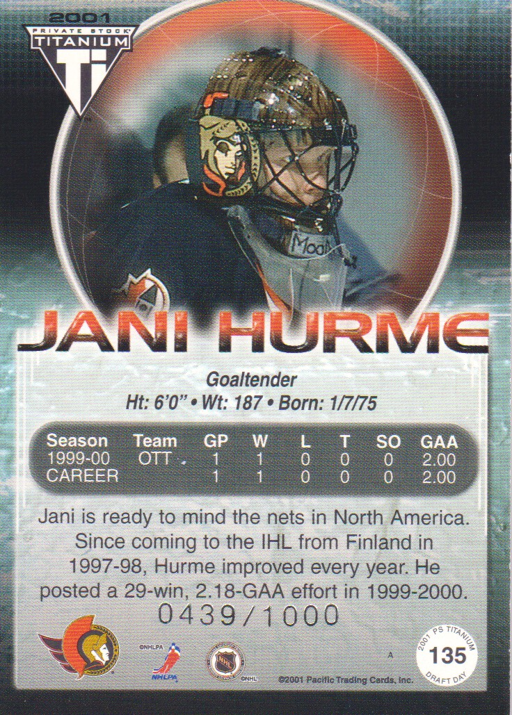 2000-01-Titanium-Draft-Day-Edition-Hockey-Cards-Pick-From-List thumbnail 25