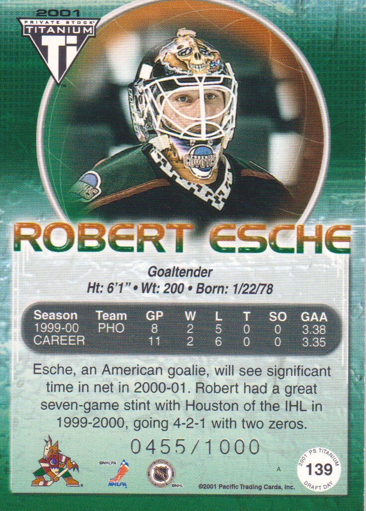 2000-01-Titanium-Draft-Day-Edition-Hockey-Cards-Pick-From-List thumbnail 27