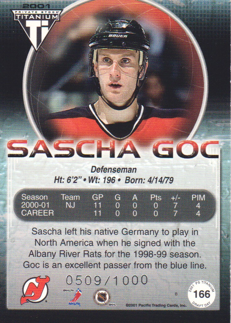 2000-01-Titanium-Draft-Day-Edition-Hockey-Cards-Pick-From-List thumbnail 31