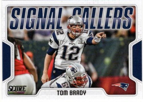 2018 Score Signal Callers #20 Tom Brady