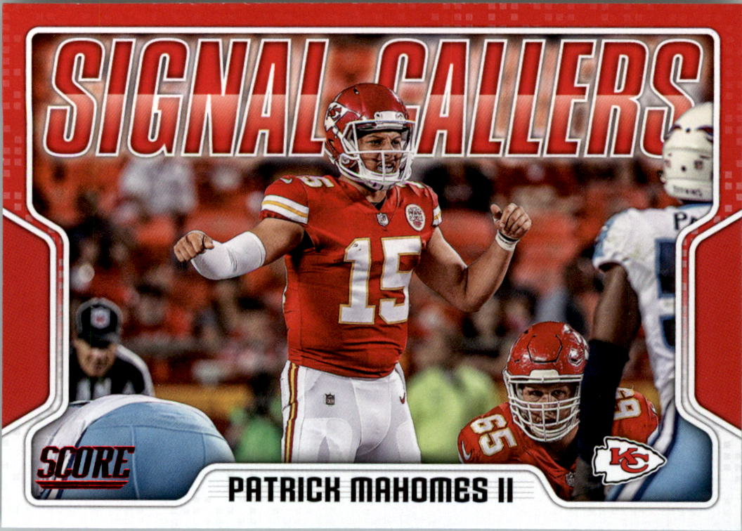 2018 Score Signal Callers #16 Patrick Mahomes II NM-MT Chiefs