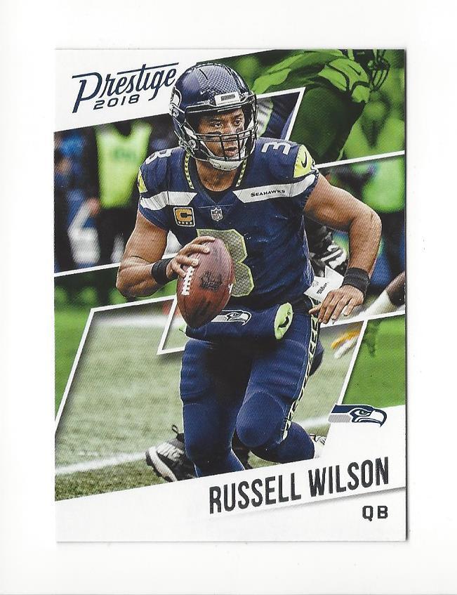 Details About 2018 Prestige 191 Russell Wilson Seahawks