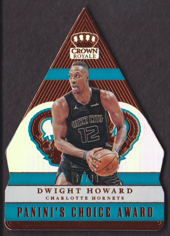 ddd606210b3 2017-18 Crown Royale Panini s Choice  PC-46 Dwight Howard 67 99 Hornets