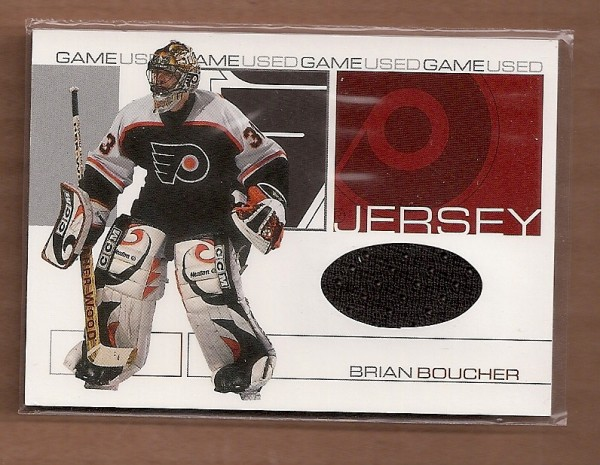 2001-02 BAP Signature Series Jerseys #GJ50 Brian Boucher