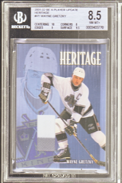 2001-02 BAP Update Heritage #H1 Wayne Gretzky