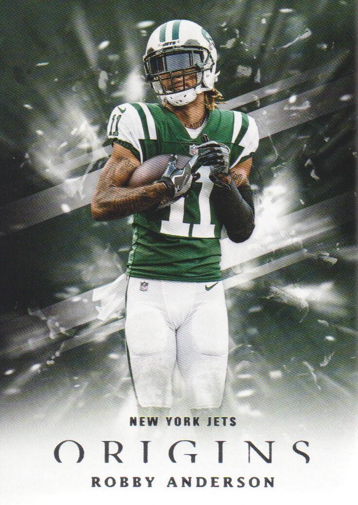 4c59ebc6c15 2018 Panini Origins Football #34 Robby Anderson New York Jets | eBay
